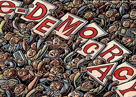 Elektronik Demokrasi Nedir